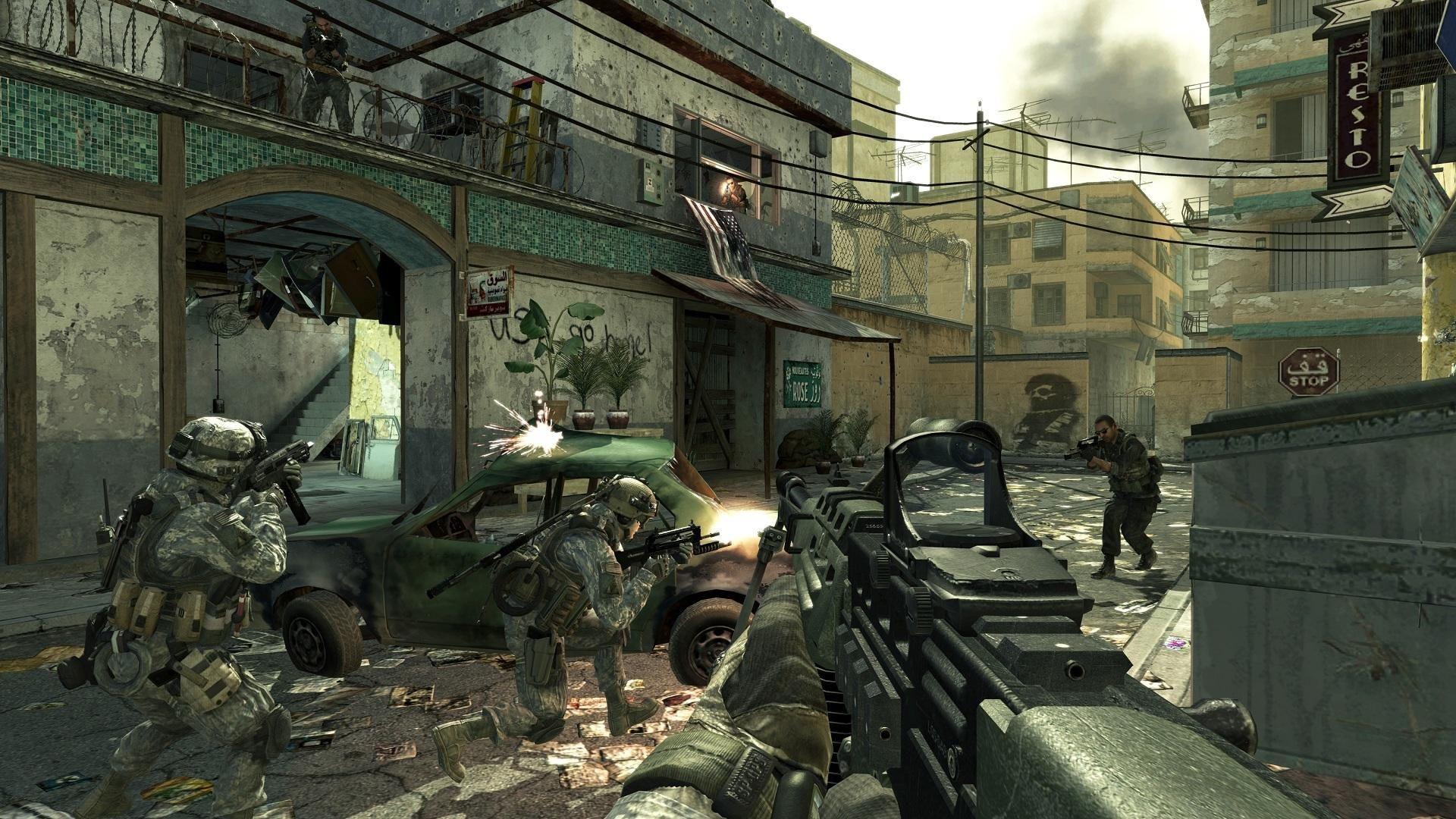 Screenshot promocyjny trybów multi, czyli jak ta gra nigdy nie wygląda.